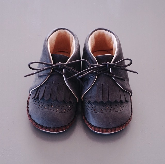 Baby Shoes 13cm / Kiltie Tongue ※受注生産:納期3週間