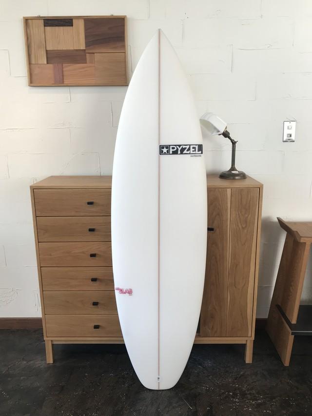 """JJF SLAB2.0 5'8"""" // PYZEL SURFBOARDS"""