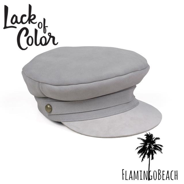 即納!限定販売【Lack of Color】Lola Cap - Gray ラックオブカラー