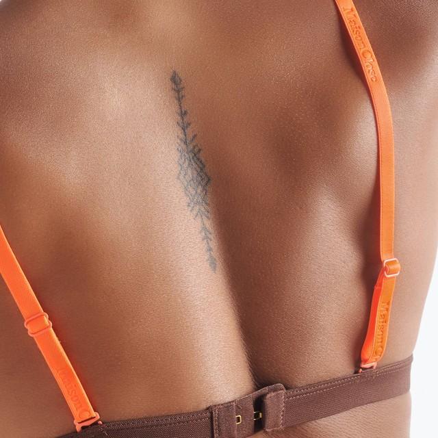 ブラストラップ(ブラ肩紐) オレンジ
