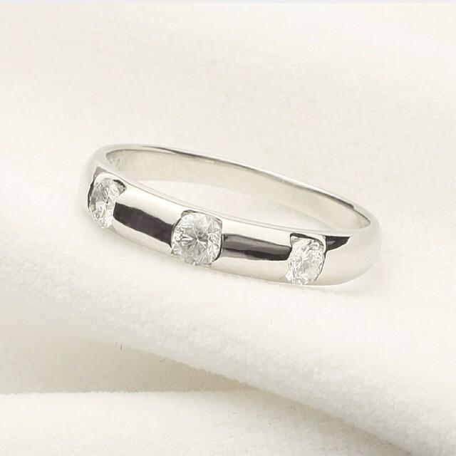 5石 ダイヤモンドリング(指輪) ピンクゴールド