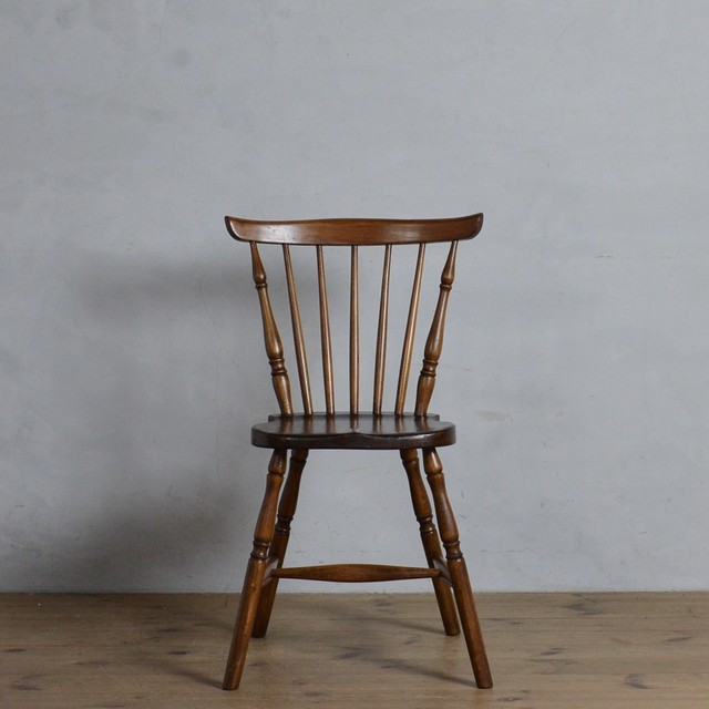 Dining Chair / ダイニング チェア【A】〈ダイニングチェア・ウィンザーチェア・デスクチェア・椅子・カントリー〉 112201