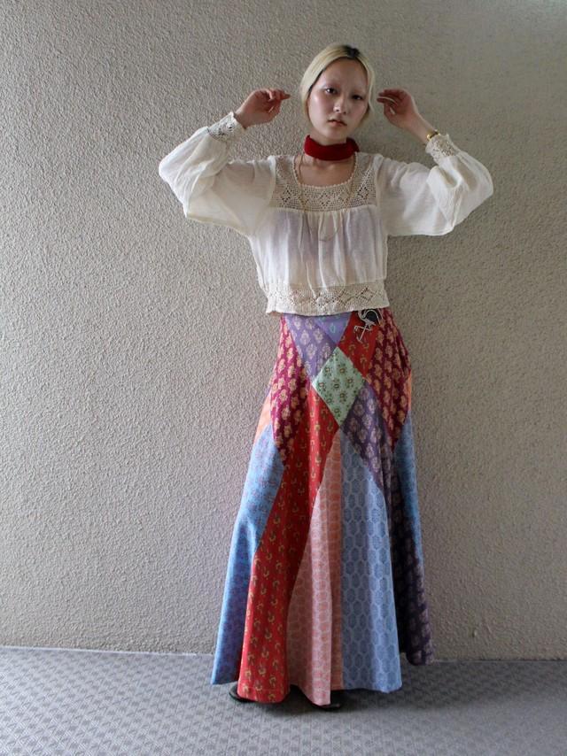 70's maxi skirt