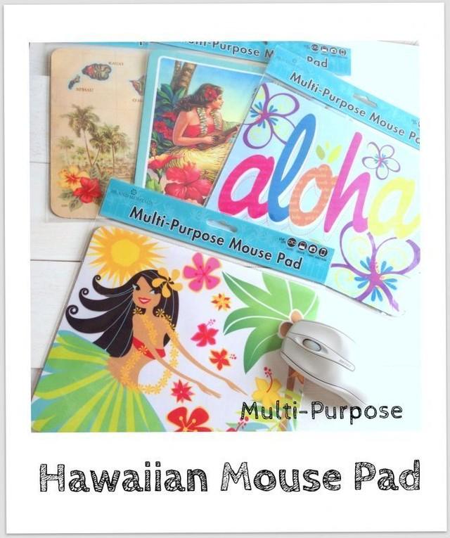 マイクロファイバー ハワイアンマウスパッド