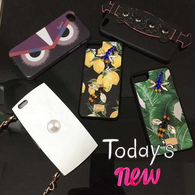 チェーン付 iPhone6/6s ケース ホワイト