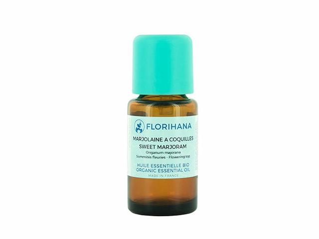 【Florihana】スイートマジョラムオーガニック 15g(精油<エッセンシャルオイル>)