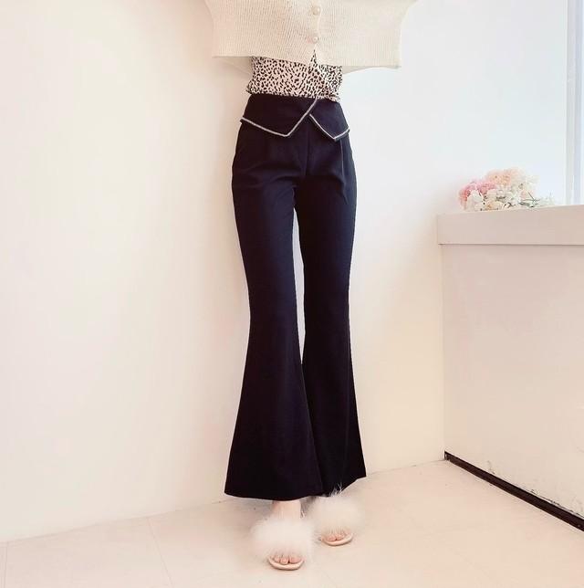 flare design pants