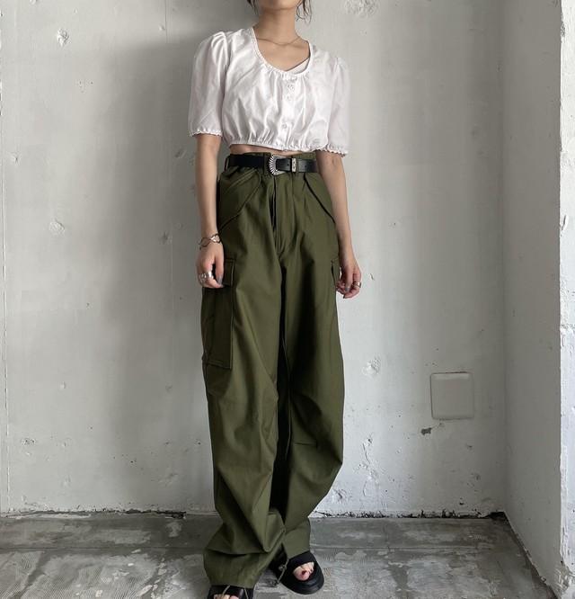 Euro vintage Tyrolean short blouse