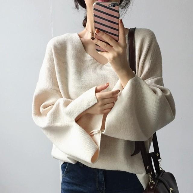 【tops】お洒落触り心地が抜群可愛い厚くてセーター 24491932