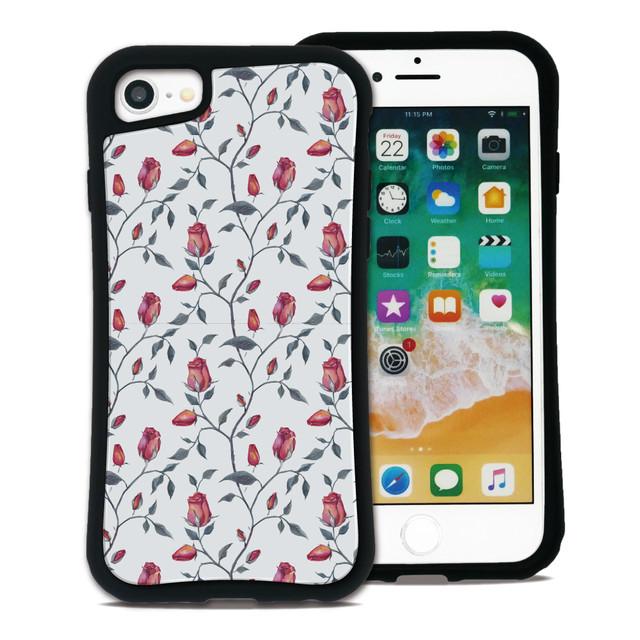 フラワー ホワイト セット WAYLLY(ウェイリー) iPhone 8 7 XR XS X 6s 6 Plus XsMax対応!_MK_