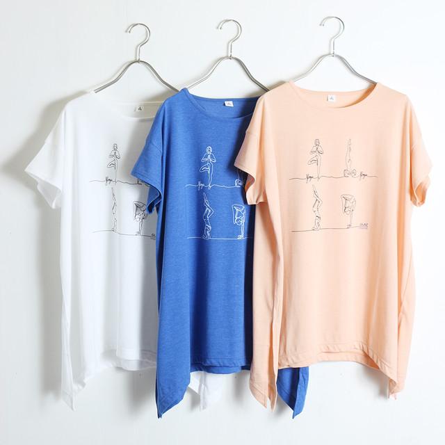 プリント チュニック Tシャツ YR-93107