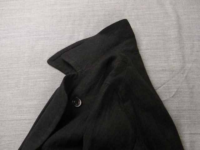 antique duster coat  / black