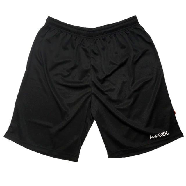 【再入荷】マッドロック / ベーシックバスケットボールパンツ / ドライタイプ / ブラック