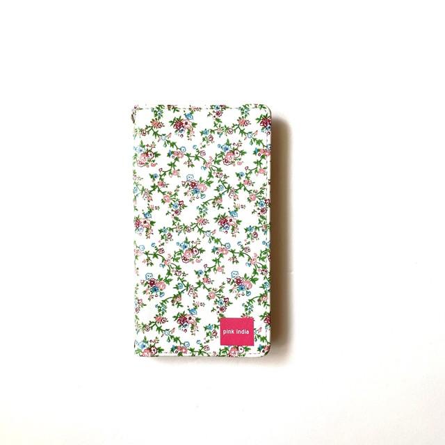 北欧デザイン 手帳型スマートフォンケース [ベルトなし] | iPhone6/7/8/SE(第二世代)兼用 | garden party