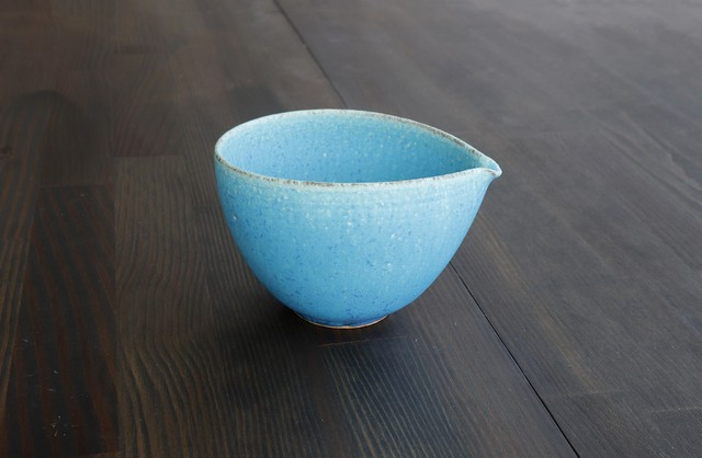 信楽の土 『 青彩釉注器  』  *丸モ高木陶器* お酒をより楽しむためのおしゃれな酒器!