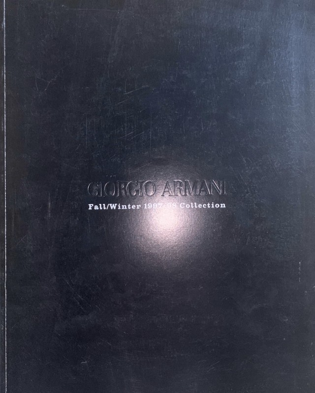GIORGIO ARMANI Fall / Winter 1997-98 Collection
