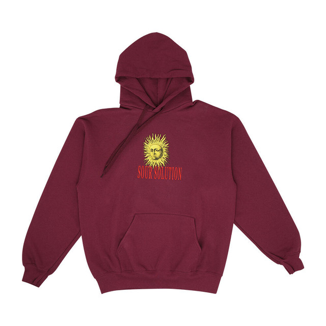 SOUR SOLUTION SUN HOOD MAROON