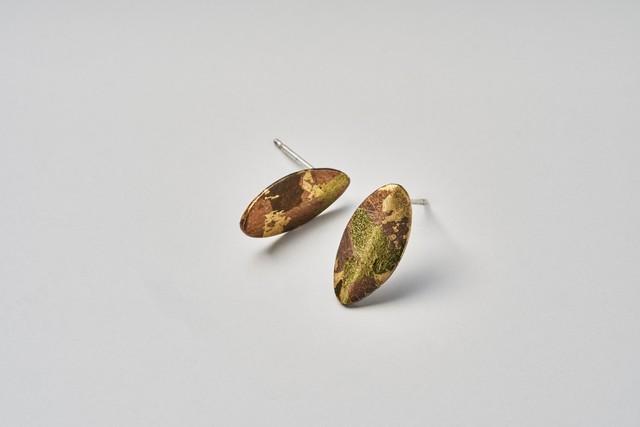 Silver950ピアス zuiun leaf / Silver earrings - zuiun leaf