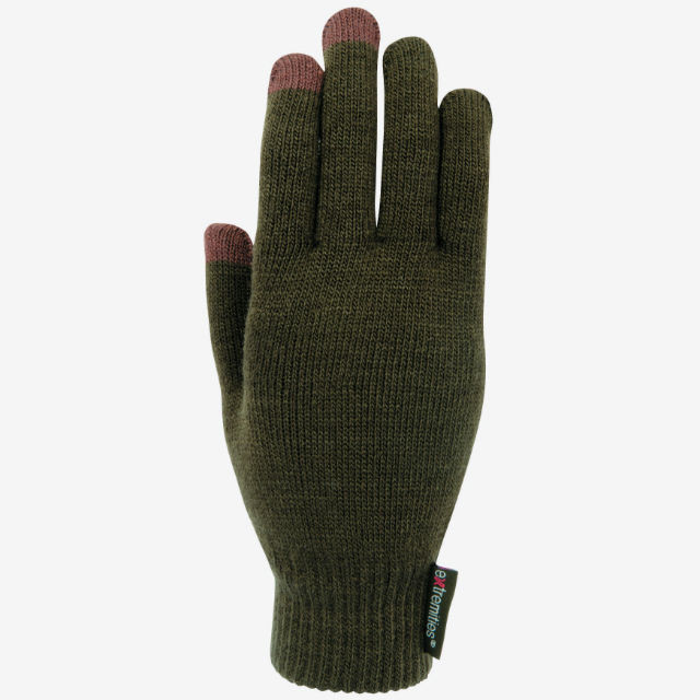 【terranova】 Thinny Touch Glove (Green)