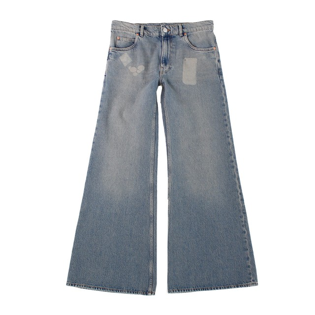 MARTINE ROSE Wide Denim Jeans
