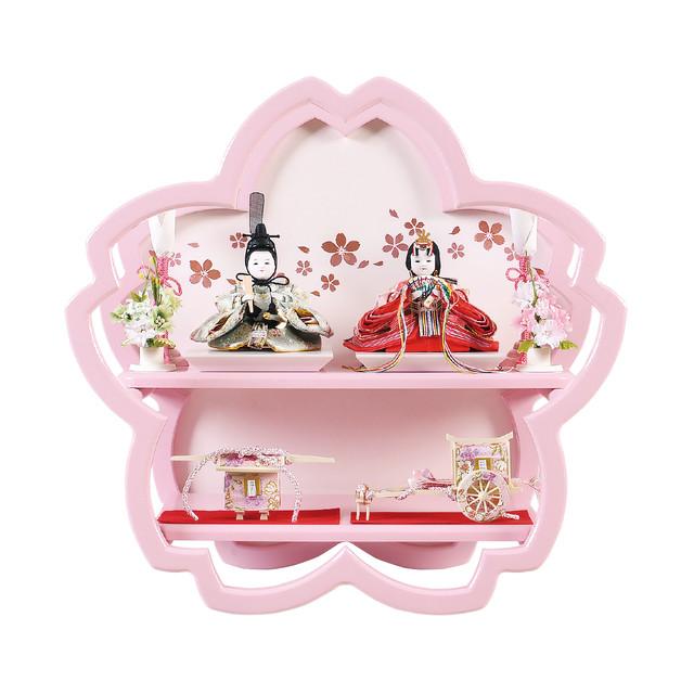ひな人形<おさな雛ころん>桜