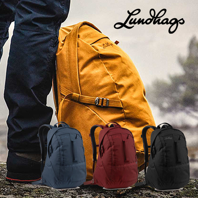 Lundhags 北欧生まれの 高機能 防水 バックパック Artut 14 リュック デイパック 14L 丈夫で軽量 リサイクル素材 バッグ メンズ レディース ビジネス アウトドア キャンプ 旅行 登山 通勤 通学 バイク ルンドハグス