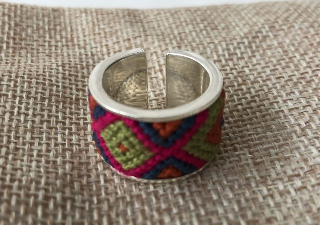 Lulo Accessories (ルロ アクセサリーズ) Wayuu ring no.2