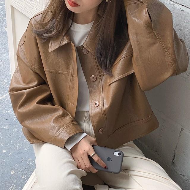 ハンサム革ジャケット
