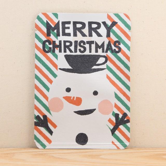 MERRY_CHRISTMAS茶(スノーマン|クリスマス|ごあいさつ茶