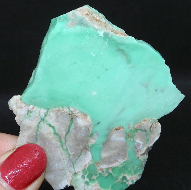 バリサイト 結晶 Variscite ユタ州産 27,5g 原石 VRS014 天然石 パワーストーン