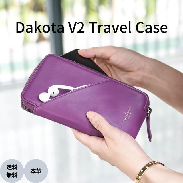本革 スマートウォレット スマホ 収納 ポーチ 財布 STORY LEATHER ストーリーレザー Dakota V2 Travel Case ユニセックス 国内正規品