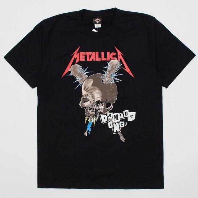 ROCK T-SHIRT 【Metallica メタリカ】DAMACE iNCO TOUR
