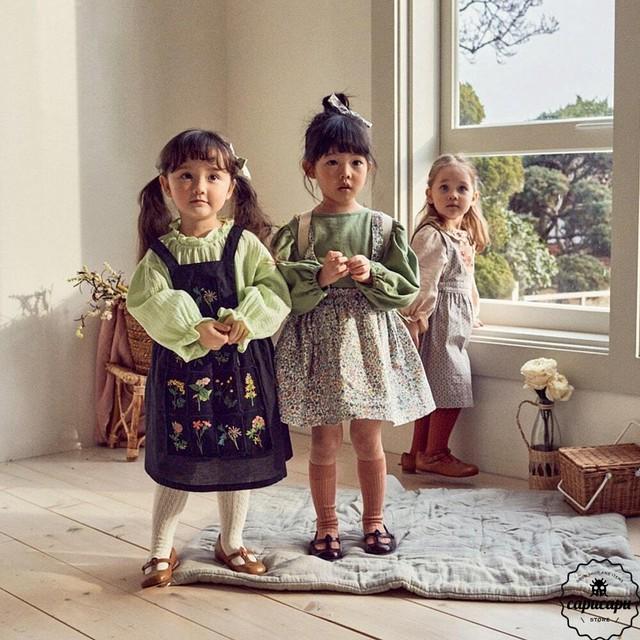 «予約»«pour enfant» デリオン スカート Delion skirt