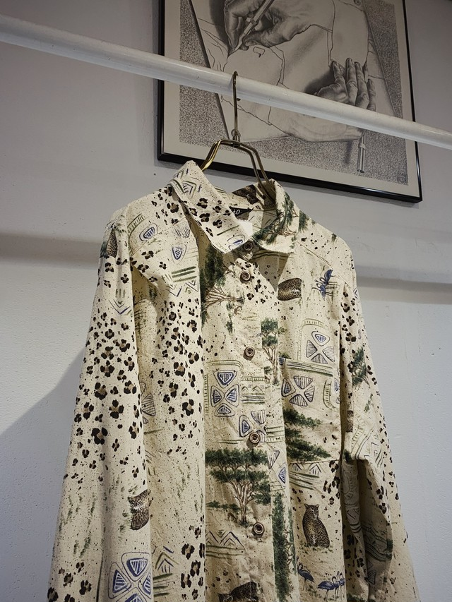 vintage animal shirt made in USA