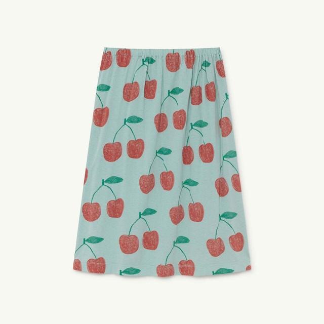 «sale»«即納» THE ANIMALS OBSERVATORY / TAO / Soft Blue Cherries Ladybug Skirt