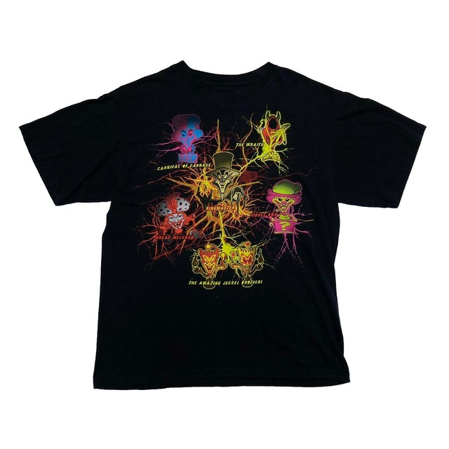 ICP THE AMAZING JECKEL BROTHERS TEE FIT LIKE XL 0962
