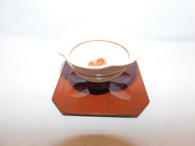 鉄丸茶托(5客) iron Japanese tea five saucers (No20)