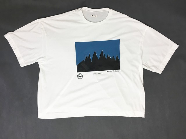 2-212-920 WORLD OF THE DAMNED TEE [WHITE]