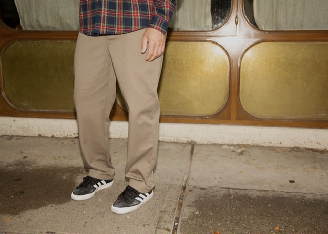 THEORIES STAMP WORK PANT CAMEL