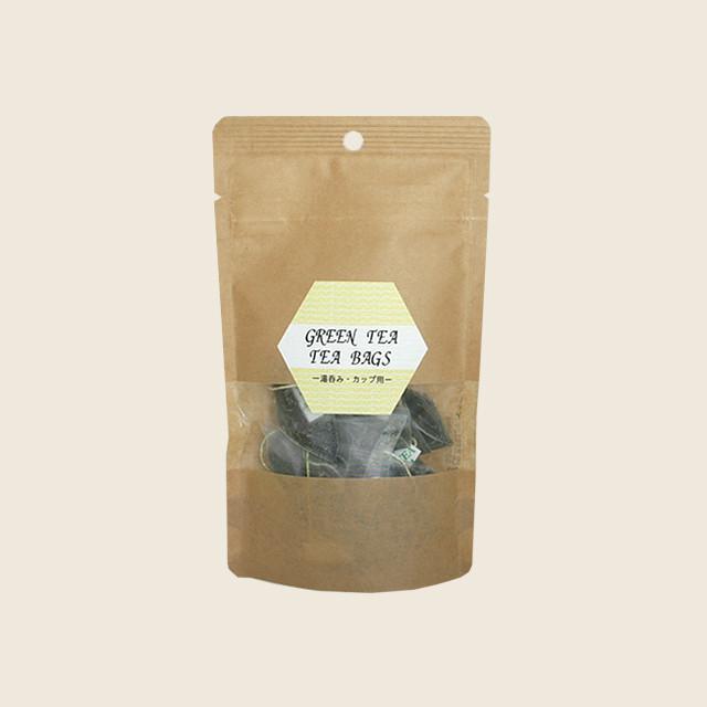 緑茶ティーバッグ (2g x 20個)