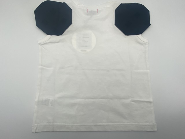 【21SS】フランキーグロウ ( frankygrow ) DISTORTED CIRCLR SLEEVE TEE[ LL ]white‐black×BK Tシャツ トップス