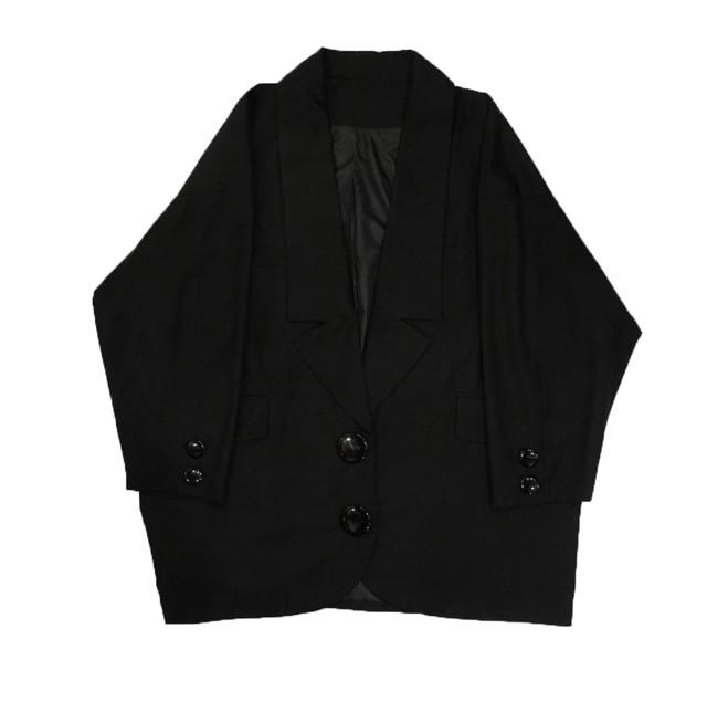 ローラペルジャケット ブラック