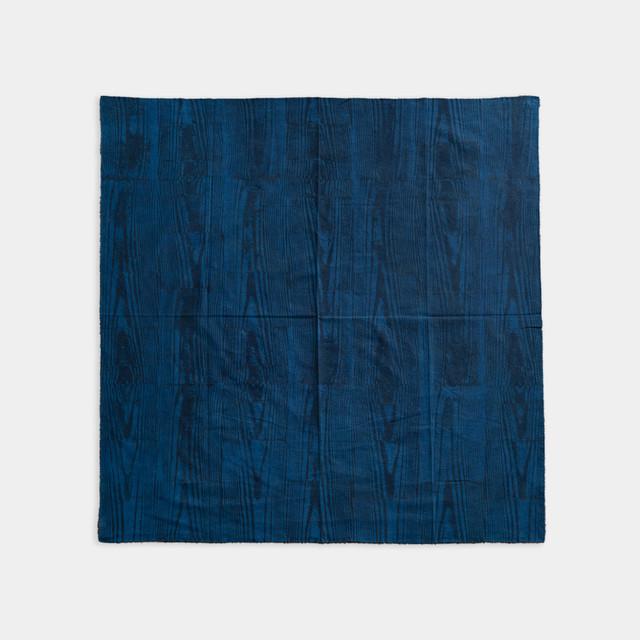 Shiori Mukai Textile 031 向井詩織 ブロックプリント 約91×91cm