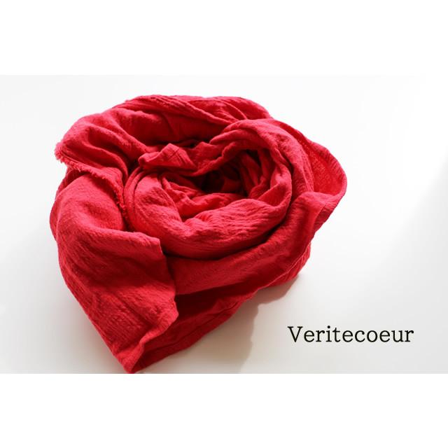 【veritecoeur 】VC-1877  コットンツイルストール