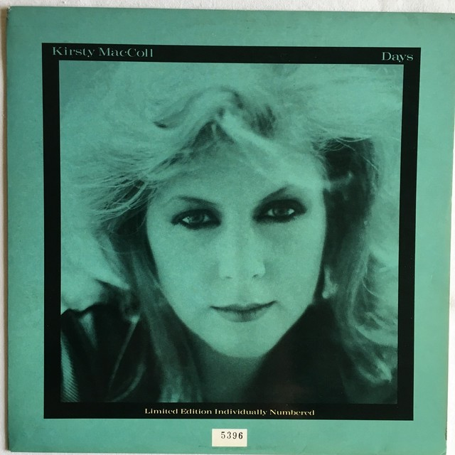 【10inch・英盤】Kirsty MacColl / Days
