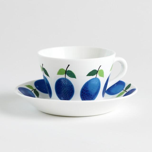 Gustavsberg グスタフスベリ Prunus プルーヌス コーヒーカップ&ソーサー - 7 北欧ヴィンテージ