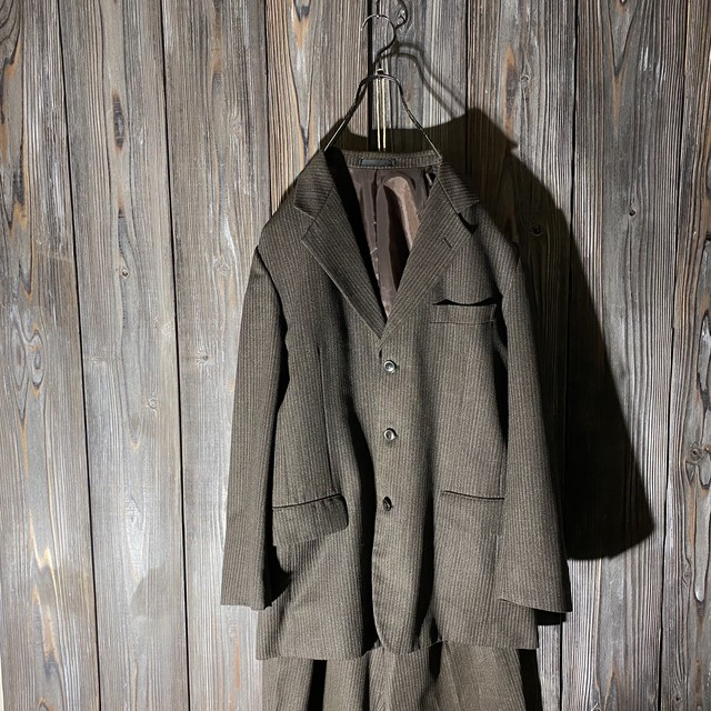[used]brown vintage setup