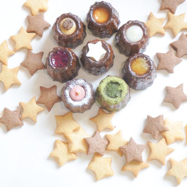ほうき星セット(カヌレ1箱+クッキー2缶)
