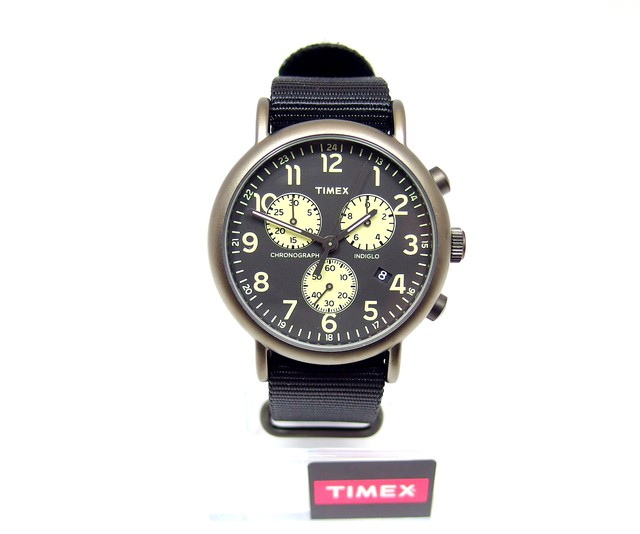 【TIMEX】 ウィークエンダークロノ