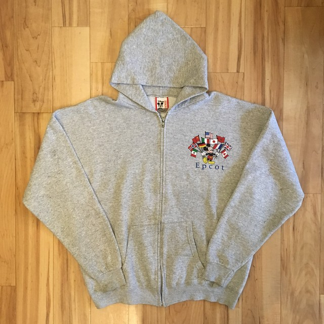 DISNEYLAND Mickey Sweat Long Sleeve